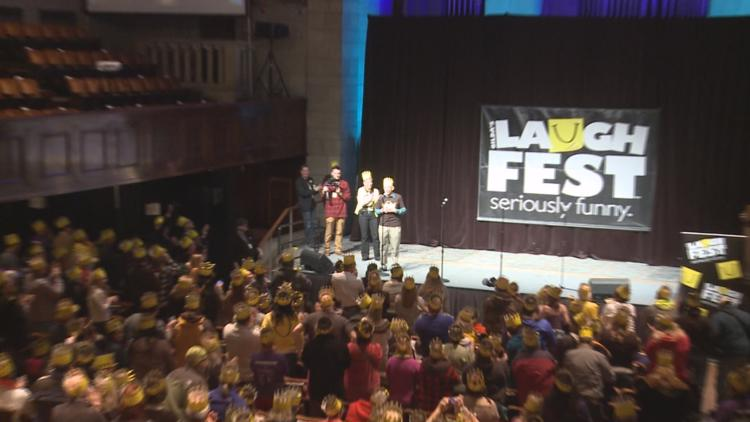 'Seriously Funny'   10th annual LaughFest underway