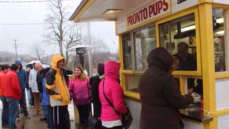 Pronto Pups opens for Winter Weekend