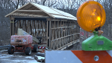 7 years after being burned down, Whites Bridge is nearly rebuilt
