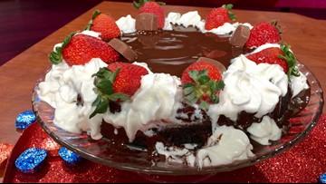 Recipe: Triple chocolate cheesecake