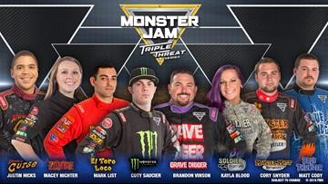 Monster Jam Roars Into Van Andel Arena