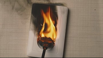 Don't play with fire: Local firefighters warn against viral 'outlet challenge'
