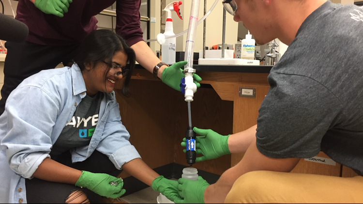One Good Thing: Hope College students working on world water problems