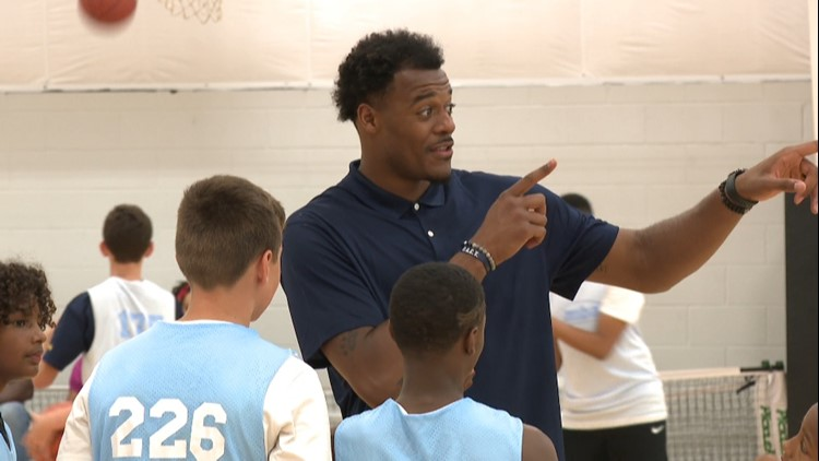 Tillman fulfills dream with youth basketball camp