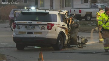 Ottawa County deputy injured in head-on crash