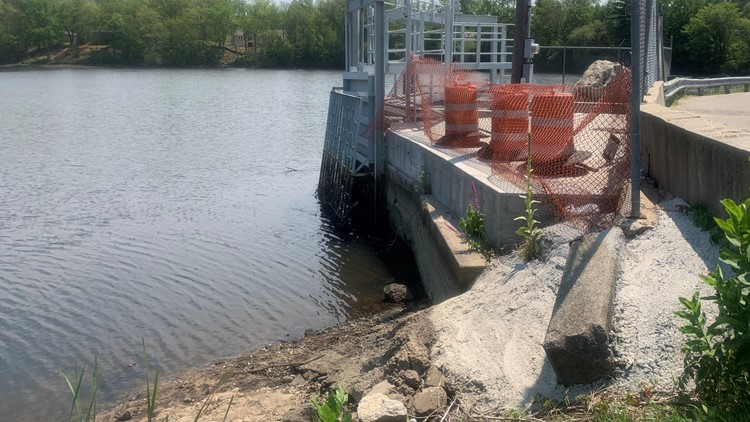 Dam stoplog failure means Lake White Cloud will be lower than normal until repairs can be made