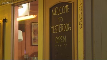 Attempted robbery at Yesterdog in Eastown
