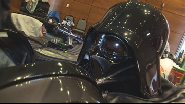 Star Wars characters to raise money for charity at Woodland Mall