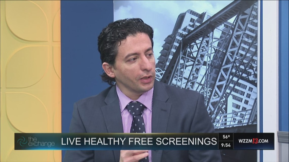 The Exchange: Live Healthy Free Screenings