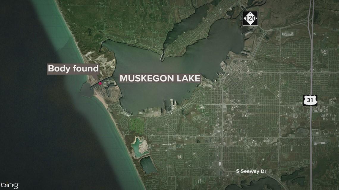 Police investigating body found in Muskegon Lake