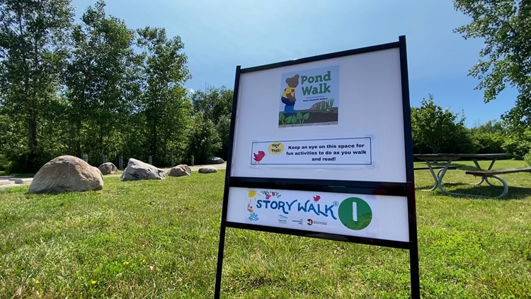 'Fun, safe, accessible': StoryWalk® series offers educational outdoor activity in Ottawa County