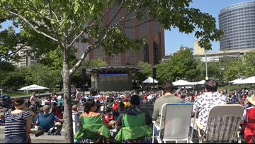 World Cup watch party brings fans to Rosa Parks Circle