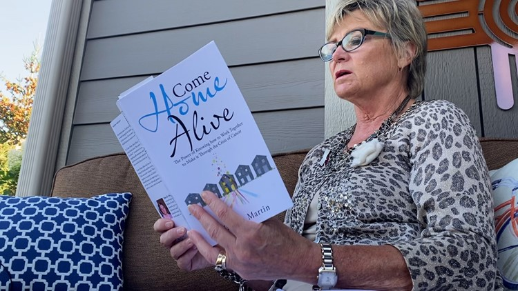 'Come Home Alive': Holland woman writes book detailing husband's journey with stage 4 throat cancer