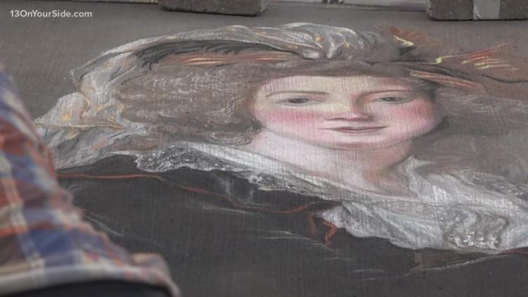 West Michigan Chalk Art Festival held Saturday