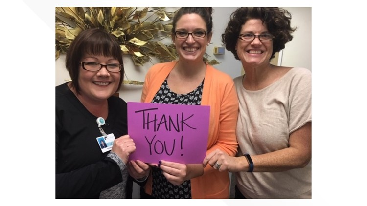 Staff Thank You at Emmanuel Hospice