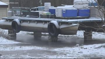 Comstock Park neighbors prepare for flooding