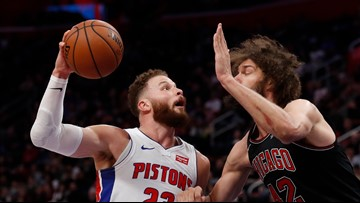 Pistons' Blake Griffin out for Game 1 against Milwaukee