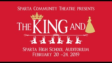 Sparta Community Theatre presents: The King and I