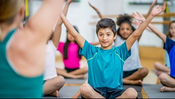 Report shows rise in yoga, meditation among children