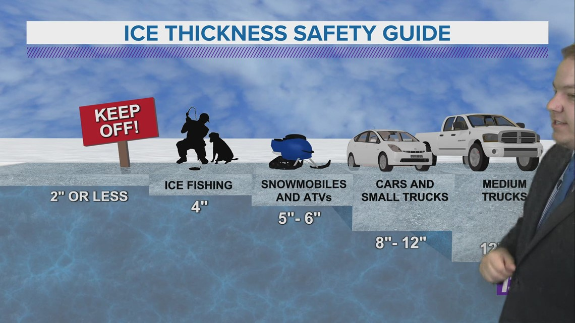 Ice safety as lakes continue to thaw