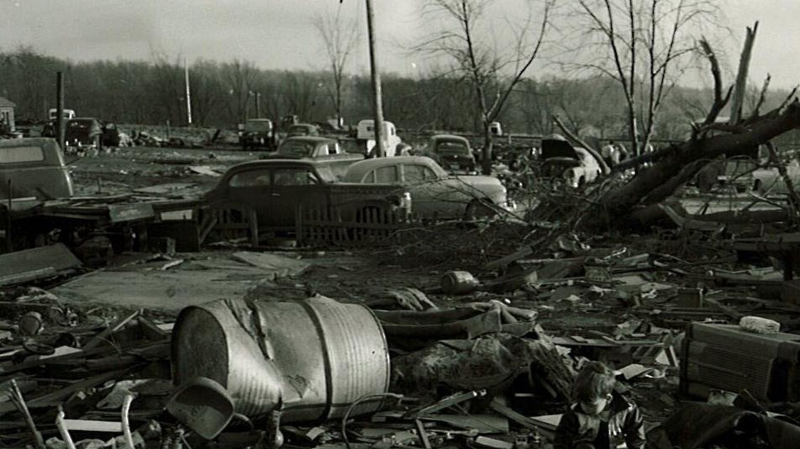 Storm Damage In Kent County From 1956