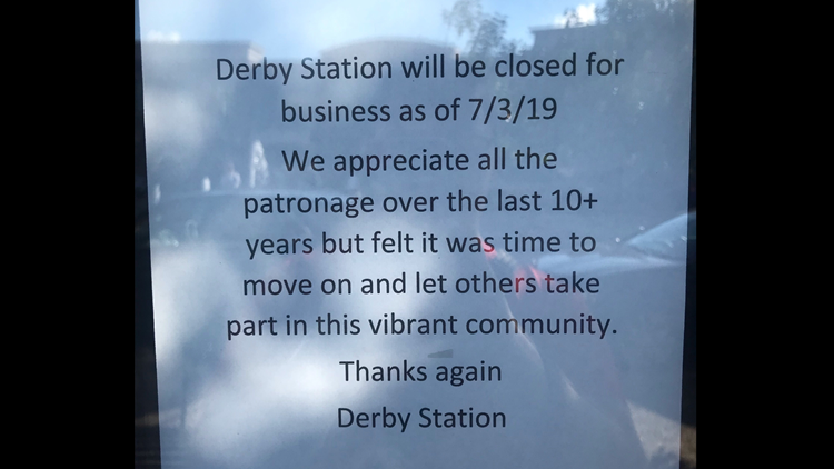 Derby Station closing time