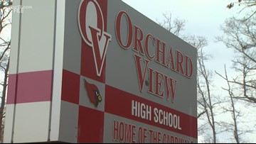 Student information breach at Orchard View High School