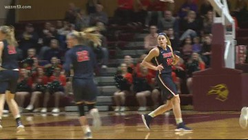 Women's Basketball: Hope and Calvin rivalry game