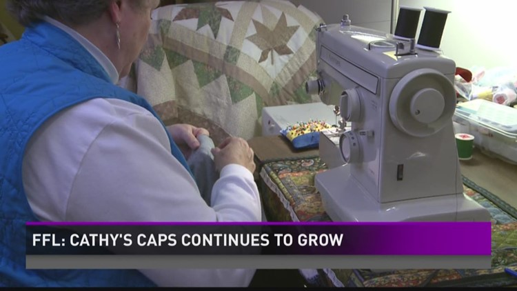Cathy's Chemo Caps effort continues growing