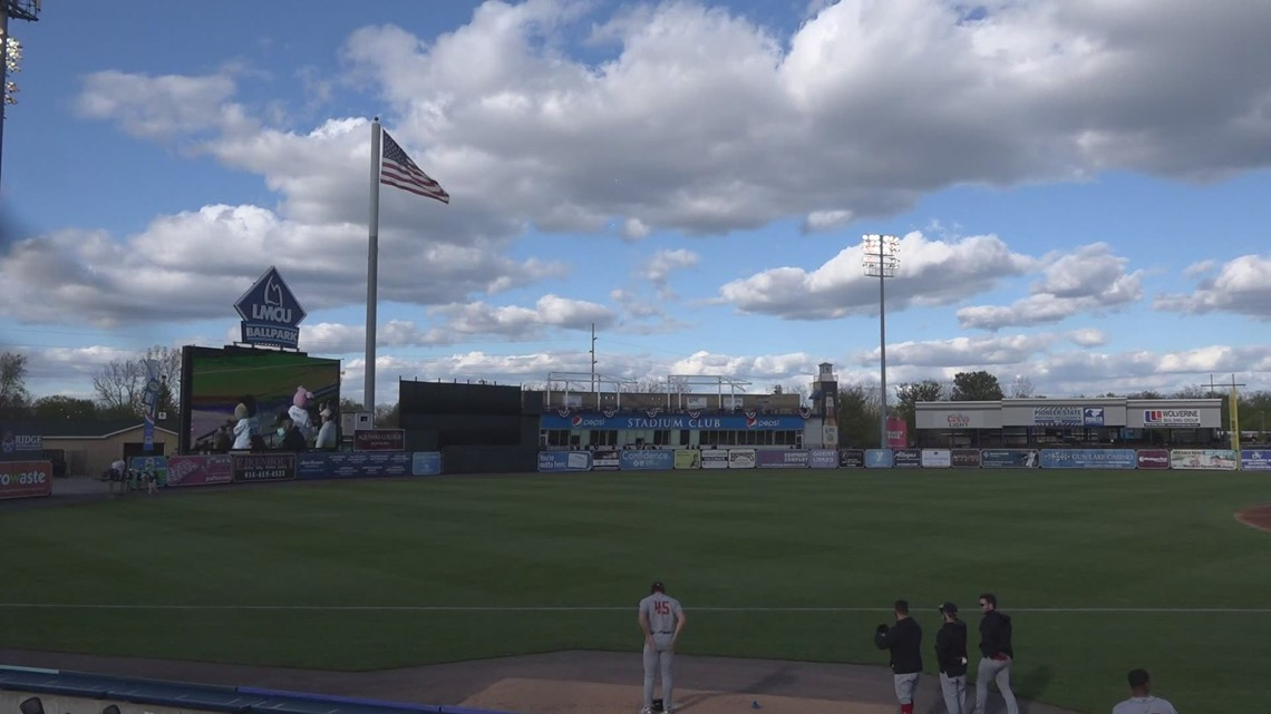 West Michigan Whitecaps welcome fans back to the park with a sold-out crowd