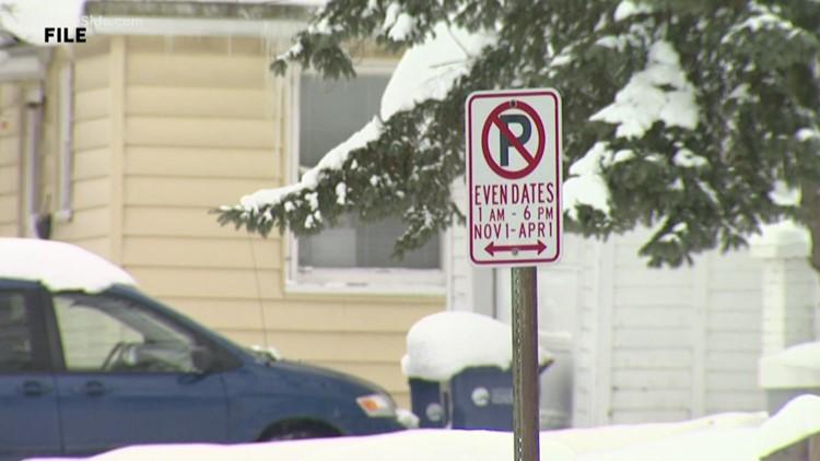 Seasonal parking rules begin Nov. 1 on many GR neighborhood streets