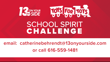 Register your school for the 2019 School Spirit Challenge
