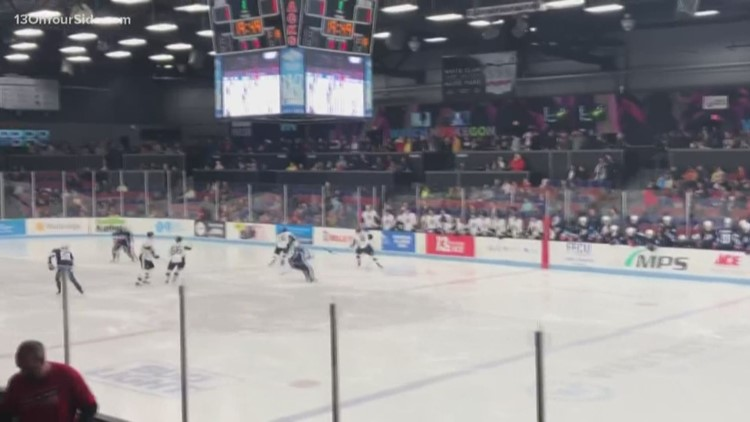13 On Your Side night at Muskegon Lumberjacks' home opener