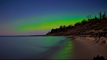 Northern Lights might be visible in southern Michigan this week