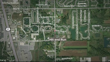 Sheriff's office looking for driver after Holland hit-and-run