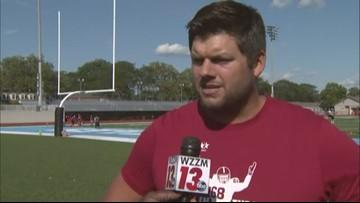 'Stay in the Game': Jared Veldheer brings football camp back home