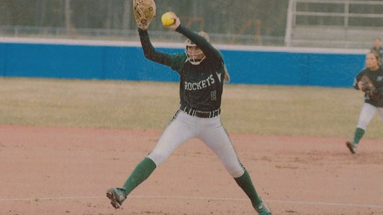 MaKayla Thompson was a star pitcher for Reeths-Puffer HS.