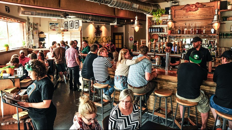 Grand Rapids's Harmony Brewing is expanding. The addition of a second kitchen and an indoor/outdoor beer garden has more than doubled the brew pub's seating capacity at its Eastown location.