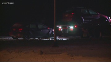 Driver sought after crash in Grand Rapids Township