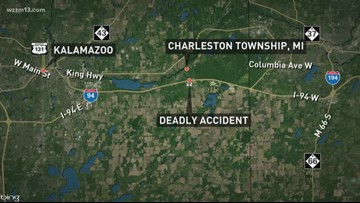 Kalamazoo County woman dies after being hit by semi-truck
