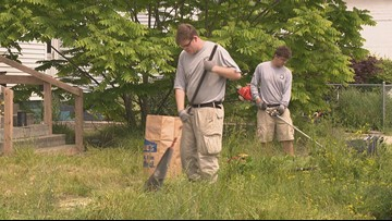 AmeriCorps team planning big blight elimination day Saturday