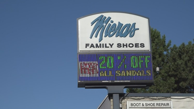 Meira's Family Shoes adds to memorial