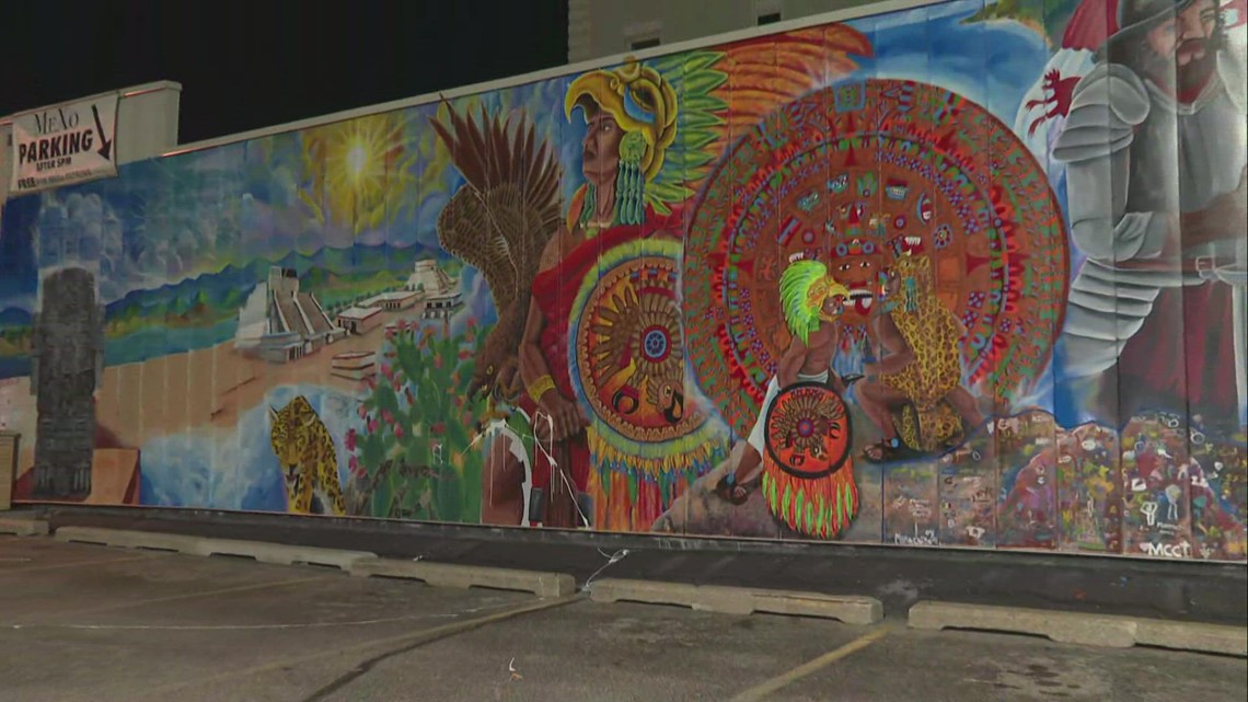ArtPrize mural at MeXo venue defaced overnight