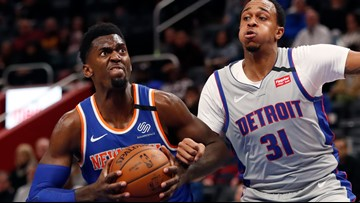 Knicks edge Pistons 95-92 for 4th straight victory