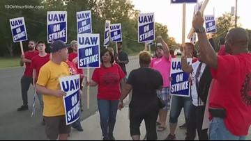 Day 2 of UAW strike, talks continue
