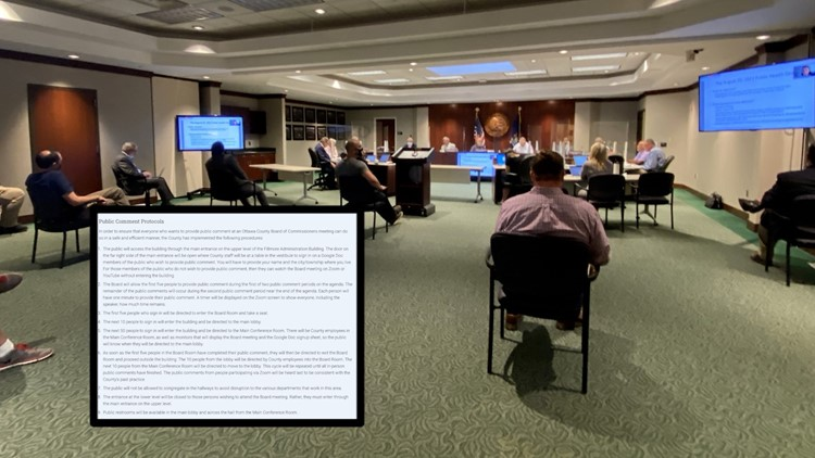 'It was out of control': After last meeting, Ottawa County Commissioners issue new rules for public comment