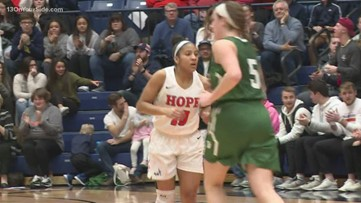 Hope women's basketball advance in NCAA tournament