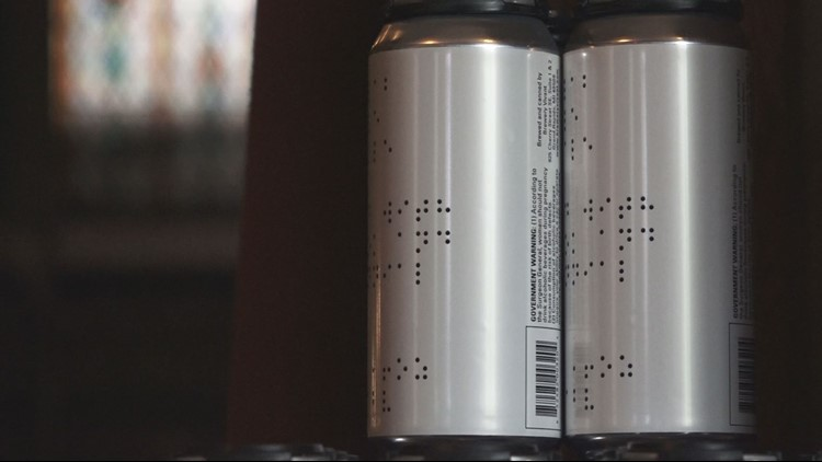 Bewery Vivant unveils 're-imagined' beer label with braille