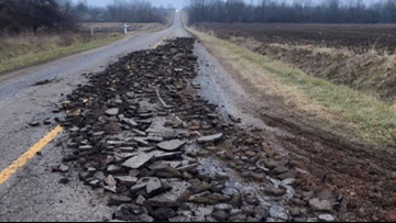 Farm equipment tore up road in Ottawa County, road commission says