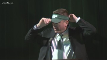 Reeths-Puffer introduces new football coach